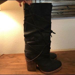 Free People Heeled Boot